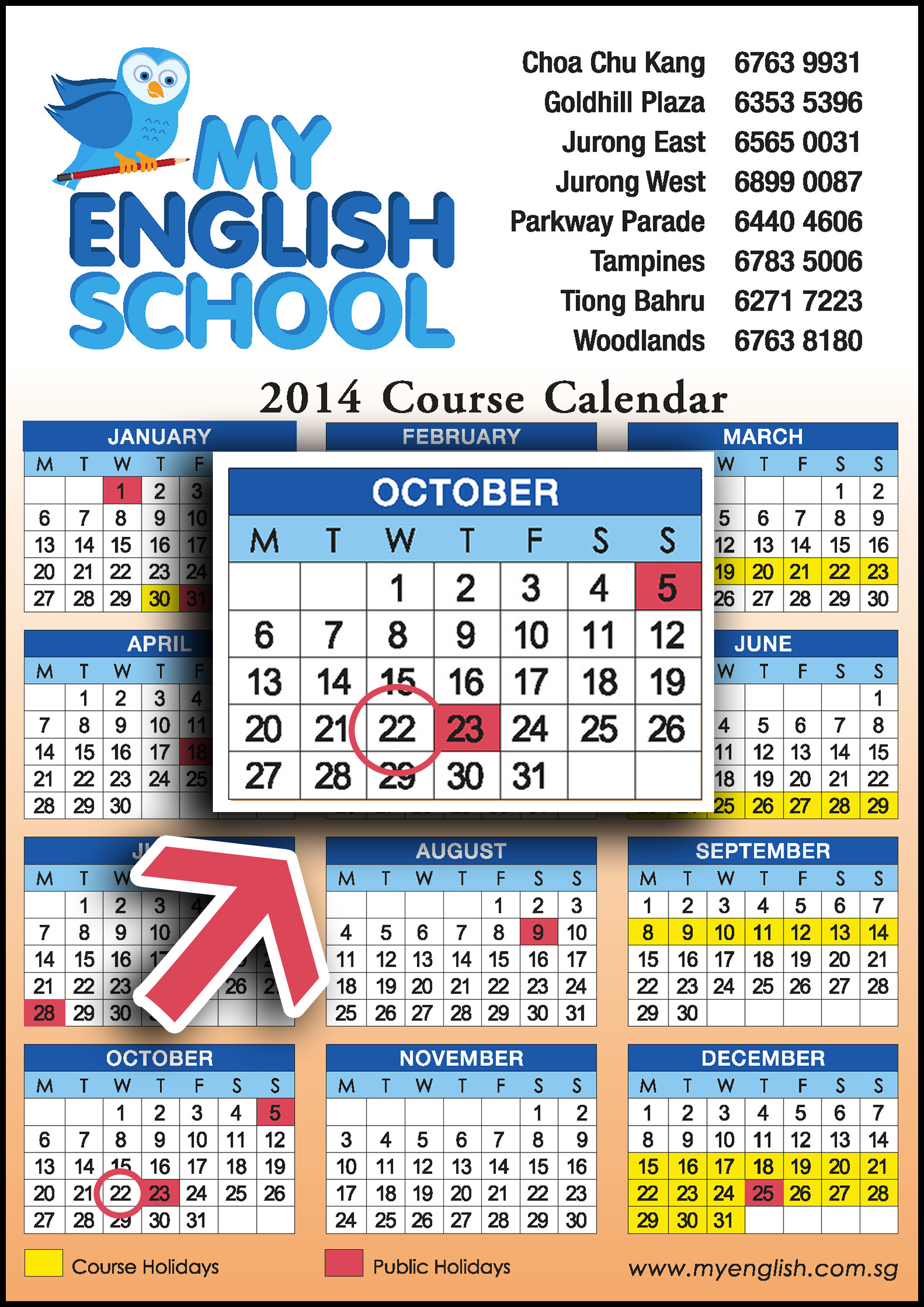 MES 2014 Calendar - Deepavali
