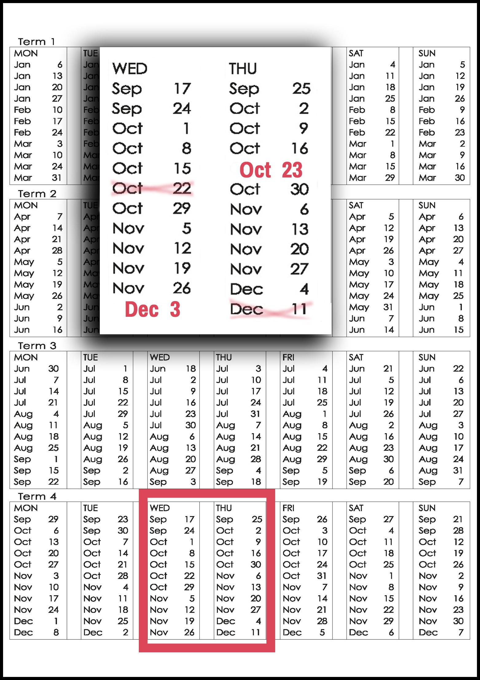 MES 2014 Dates - Deepavali