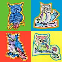 Owl contest at My English School